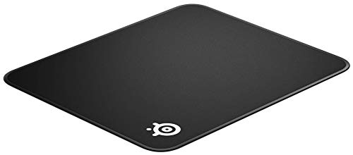 SteelSeries QcK Edge - Cloth Gaming Mouse Pad - stitched edge to prevent wear - optimized for gaming sensors - size M