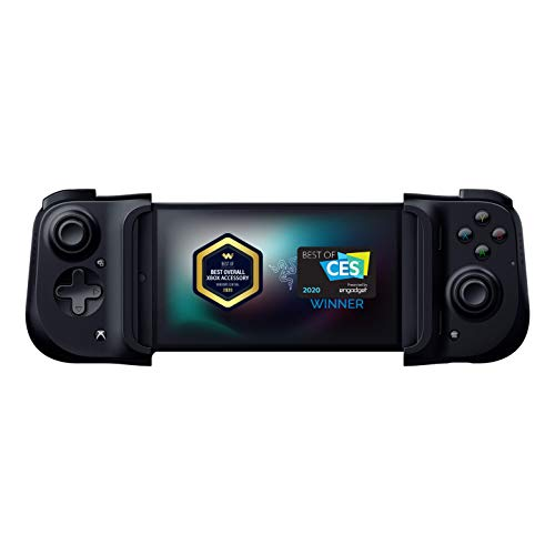 Razer Kishi Mobile Game Controller / Gamepad for Xbox Android USB-C: Game Pass Ultimate, xCloud, Cloud Gaming - Passthrough Charging - Low Latency Phone...