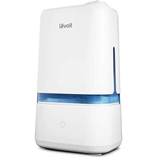 LEVOIT Humidifiers for Bedroom, 4L Ultrasonic Cool Mist Humidifier for Large Room Babies, Air Humidifier with Essential Oil Tray, Quiet Operation, Auto Shut-Off...