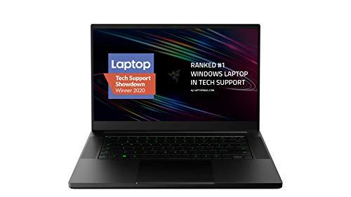 Razer Blade 15 Base Gaming Laptop 2020: Intel Core i7-10750H 6-Core, NVIDIA GeForce RTX 2060, 15.6' FHD 1080p 144Hz, 16GB RAM, 512GB SSD, CNC Aluminum, Chroma...