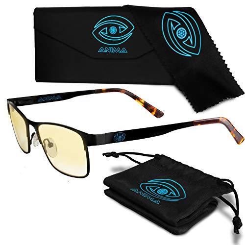 Anima Computer/Gaming Blue Light Glasses - Blue Light Blocking Glasses to Reduce Digital Eyestrain/Fatigue, Get Better Sleep, Prevent Headaches - Increased...
