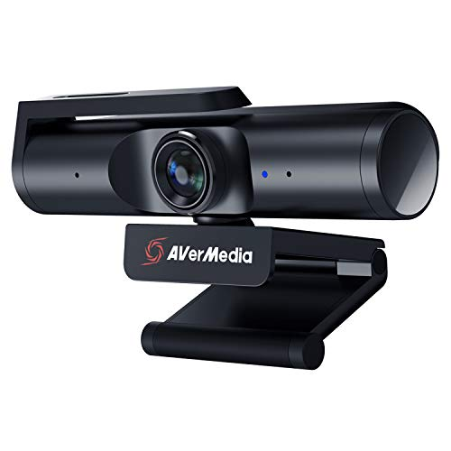 AVerMedia Live Streamer CAM 513. A Plug & Play USB 3.0, 4K UHD, Wide-Angle Lens Webcam (PW513)