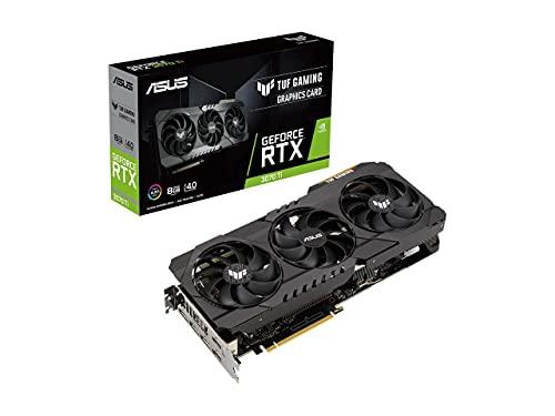 ASUS TUF Gaming GeForce RTX 3070 Ti 8GB GDDR6X PCI Express 4.0 x16 Video Card TUF-RTX3070TI-8G-GAMING