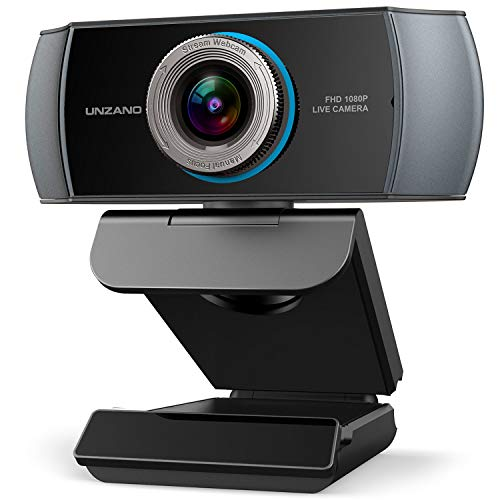 Full HD Webcam 1080P,Streaming Camera,Webcam with Microphone,Wide Angle USB Computer Camera with Facial-Enhancement Technology,Web Cam for Desktop Laptop PC...
