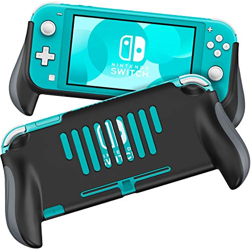 MEQI Grip Case Compatible with Nintendo Switch Lite, Comfortable and Ergonomic Gaming Portable Protective Handheld Cover - Accessories for Switch Lite Console...