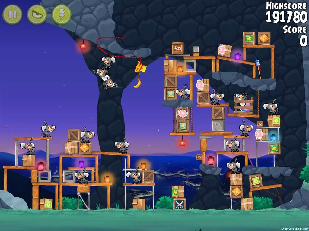 Angry Birds Rio- Cheat Codes and Golden Fruit Locations - Wiproo