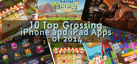 top 10 iphone ipad apps 2014