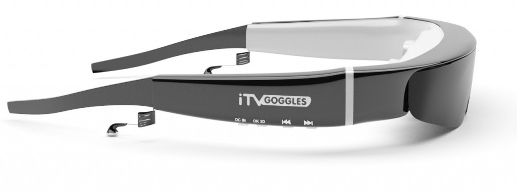 High Tech Gadgets for your home- ITV Goggles Widescreen HD goggles