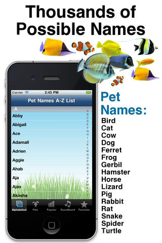 Apps For Pet Lovers pet names 2