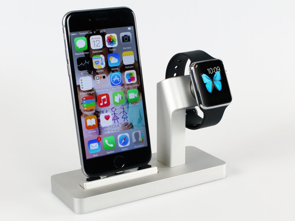 9 hand picked third party apple watch docks wiproo. Black Bedroom Furniture Sets. Home Design Ideas