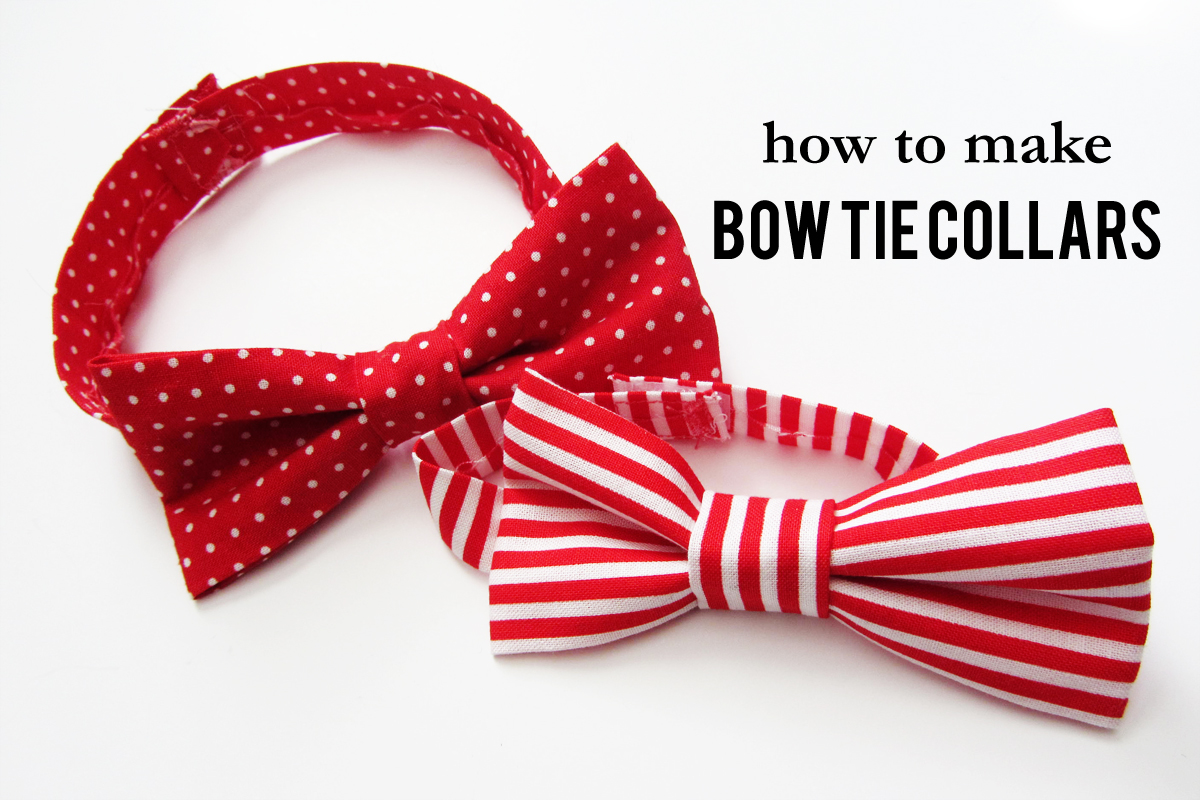 Diy Dog Tie Collar