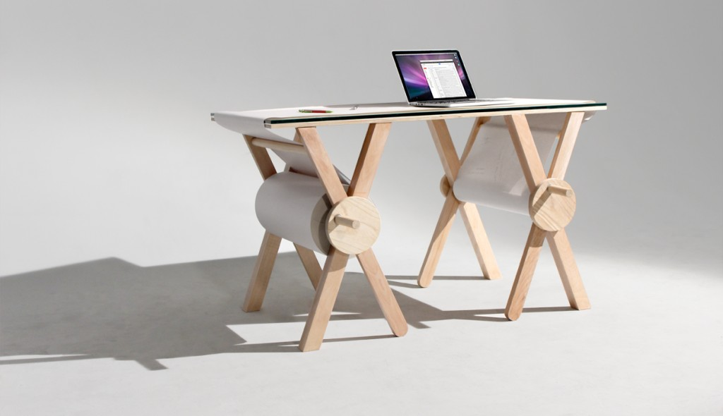 Innovative Office Computer Desks Analog Memory Desk