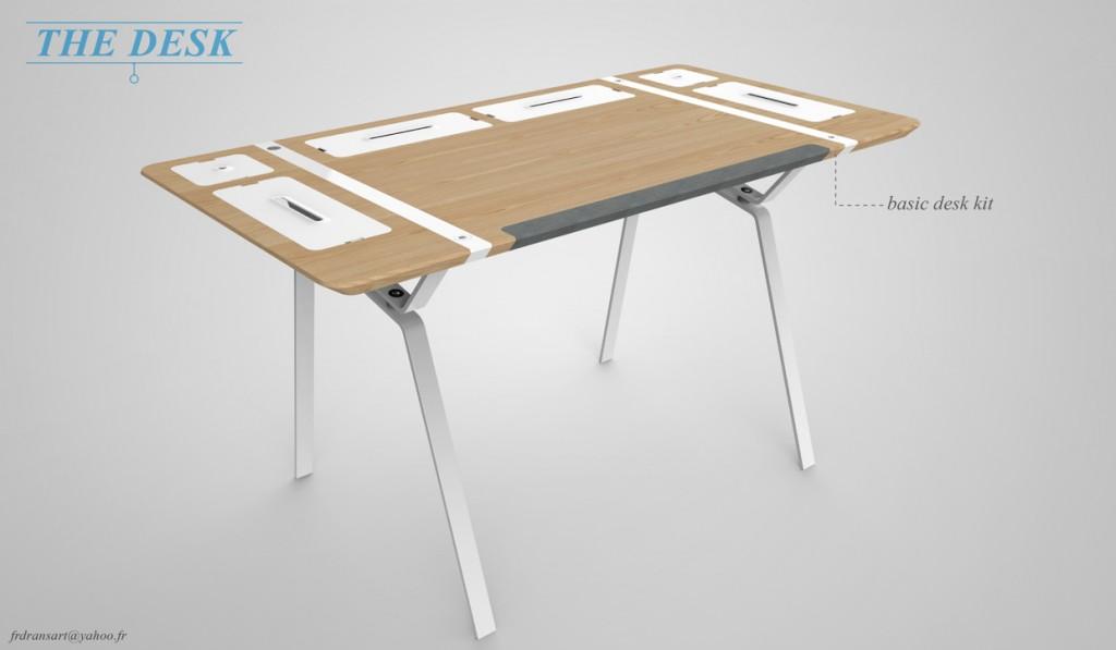 Innovative Office Computer Desks- Desk Concept