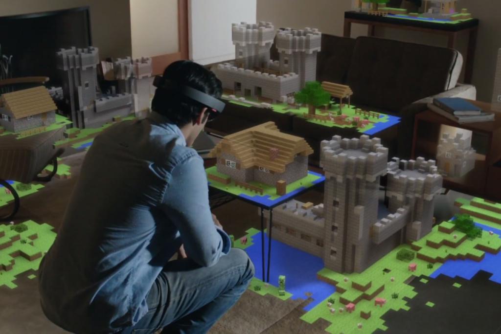 microsoft-hololens-displays-minecraft-3D-printing