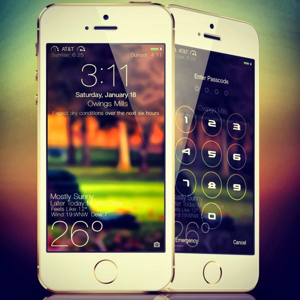 Ios 9 Lockscreen