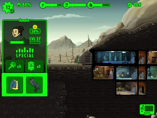 how to get more inventory in fallout shelter