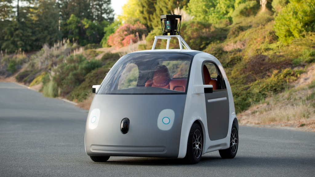 Google and Delphi Self Driving Cars Clash In Near Miss