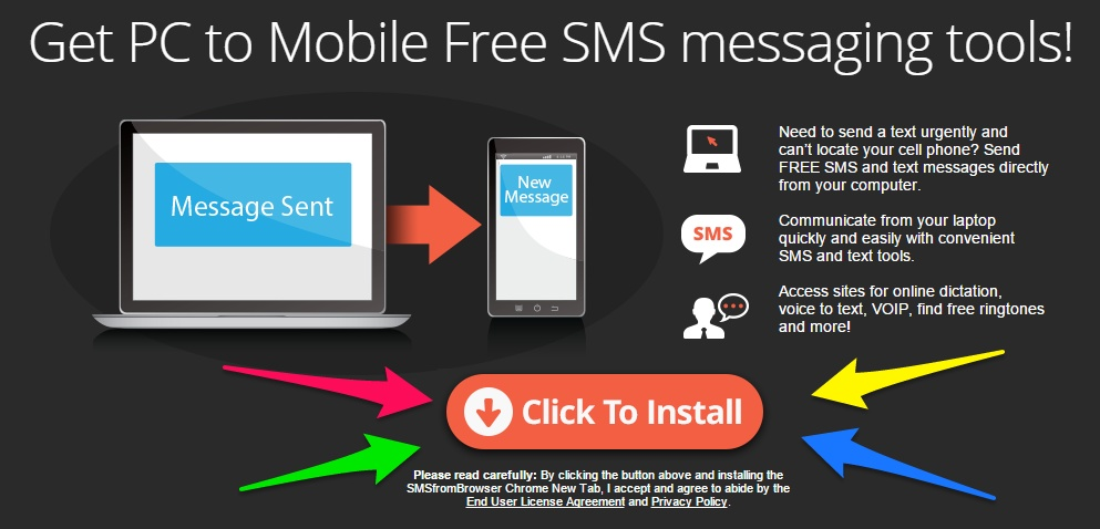 SmsFromBrowser is A Great Chrome Extension To Get You Sending SMS